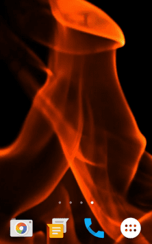 Огонь HD видео скриншот 2
