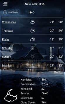 Погода скриншот 4