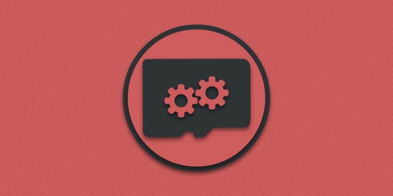 Восстановление MicroSD накопителя.
