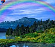 Весенние горы logo