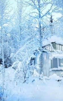 Зима Снег падает скриншот 3