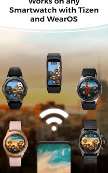 Camera Remote: Wear OS, Galaxy Watch, Gear S3 App скриншот 1