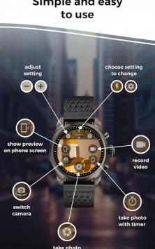 Camera Remote: Wear OS, Galaxy Watch, Gear S3 App скриншот 4