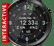 Galaxy Glow HD Watch Face Widget & Live Wallpaper logo