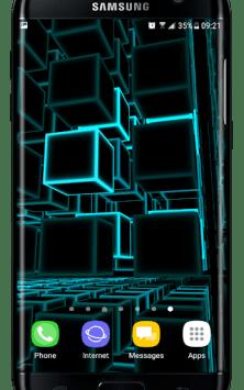Infinity Parallax Cubes 2 3D скриншот 1