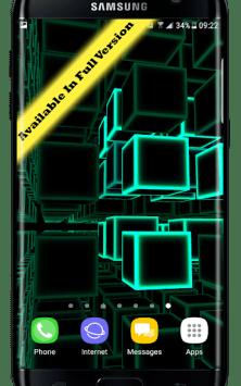Infinity Parallax Cubes 2 3D скриншот 2