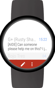 Mail for Wear OS (Android Wear) & Gmail скриншот 1