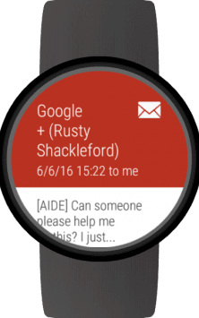 Mail for Wear OS (Android Wear) & Gmail скриншот 3