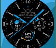 Marine Commander Watch Face for WearOS logo