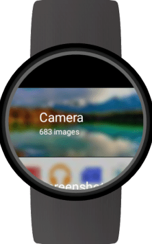 Photo Gallery for Wear OS (Android Wear) скриншот 2