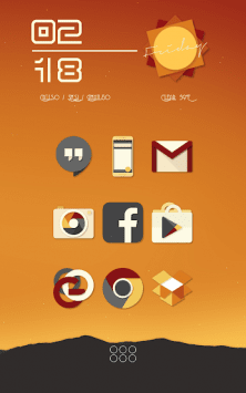 Saturate - Free Icon Pack скриншот 2