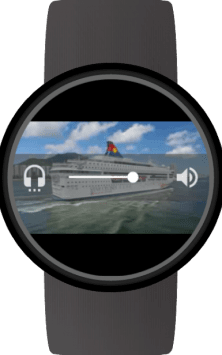 Video Gallery for Wear OS (Android Wear) скриншот 2