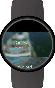 Video Gallery for Wear OS (Android Wear) скриншот 3