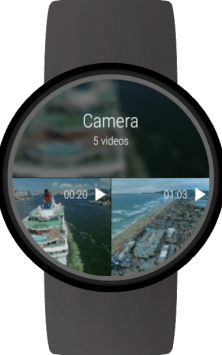 Video Gallery for Wear OS (Android Wear) скриншот 4