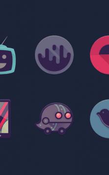 Viral - Free Icon Pack скриншот 1