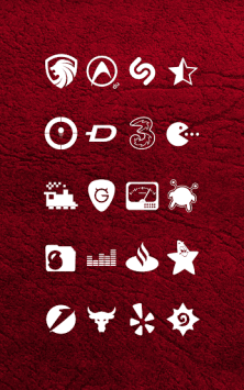 Whicons - White Icon Pack скриншот 2