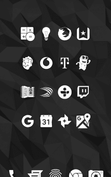 Whicons - White Icon Pack скриншот 3
