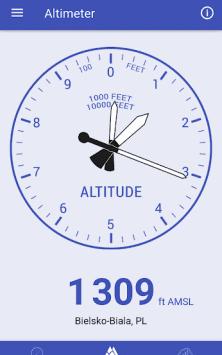 Барометр, альтиметр и термометр скриншот 2