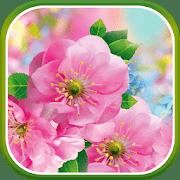 Цветы весной logo