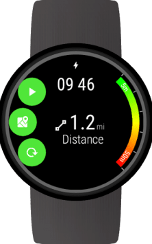 GPS Tracker for Wear OS (Android Wear) скриншот 1