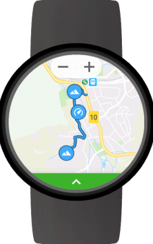 GPS Tracker for Wear OS (Android Wear) скриншот 3