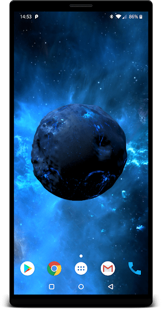 Движущиеся фоны 4D - GRUBL ™ скриншот 4