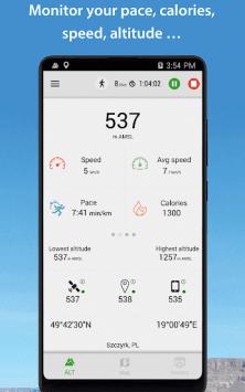 Высотомер – Альтиметр скриншот 3