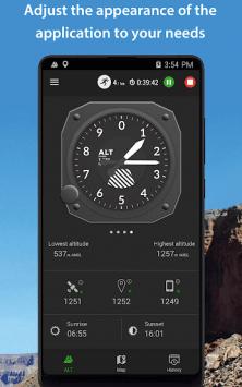 Высотомер – Альтиметр скриншот 4