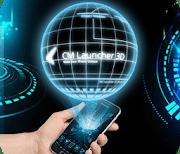 3D Tech Тема Samsung & Huawei logo