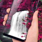 Waterfall Flower live Wallpaper