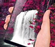 Waterfall Flower logo