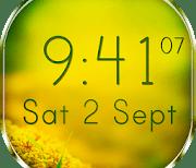 Цифровые часы logo