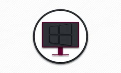 Черный экран Windows 10.