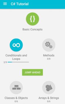 Учим C# скриншот 1