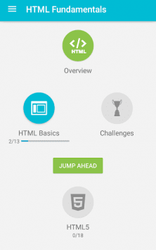 Учим HTML скриншот 1