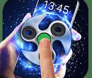 Fidget spinner logo
