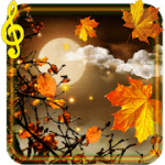 Осень. Луна Live Wallpaper