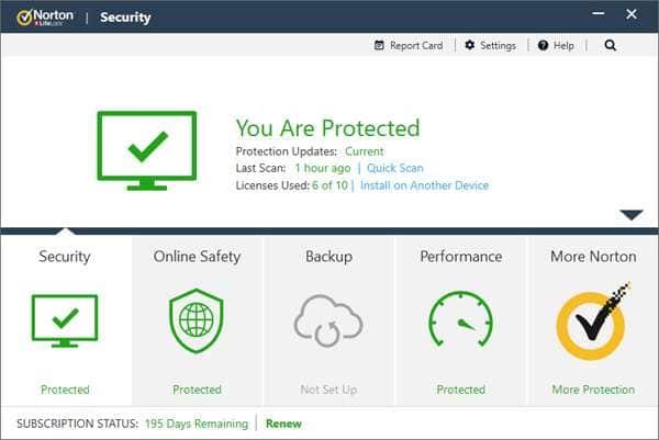 Norton Security.
