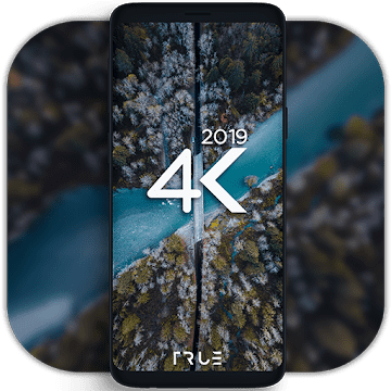 4K Wallpapers - Auto Wallpaper Changer logo