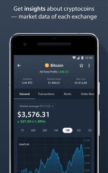 Delta — Bitcoin и криптовалюты, трекер портфелей скриншот 3