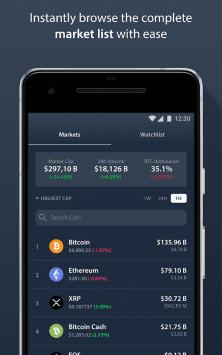 Delta — Bitcoin и криптовалюты, трекер портфелей скриншот 4