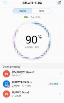 Huawei HiLink (Mobile WiFi) скриншот 1