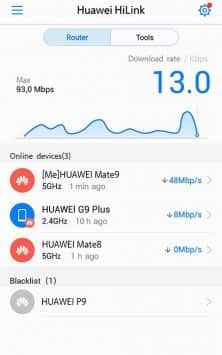 Huawei HiLink (Mobile WiFi) скриншот 3