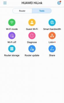 Huawei HiLink (Mobile WiFi) скриншот 4