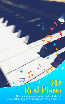 3D Piano Keyboard скриншот 1
