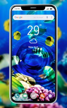 Фото в воде: живые обои скриншот 1