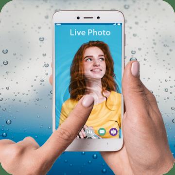 Фото в воде: живые обои logo