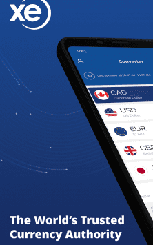 XE Currency Converter & Exchange Rate Calculator скриншот 1