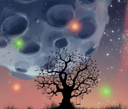 Лунная ночь logo
