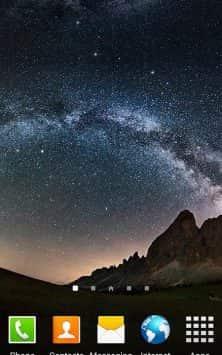 Звездное небо скриншот 1